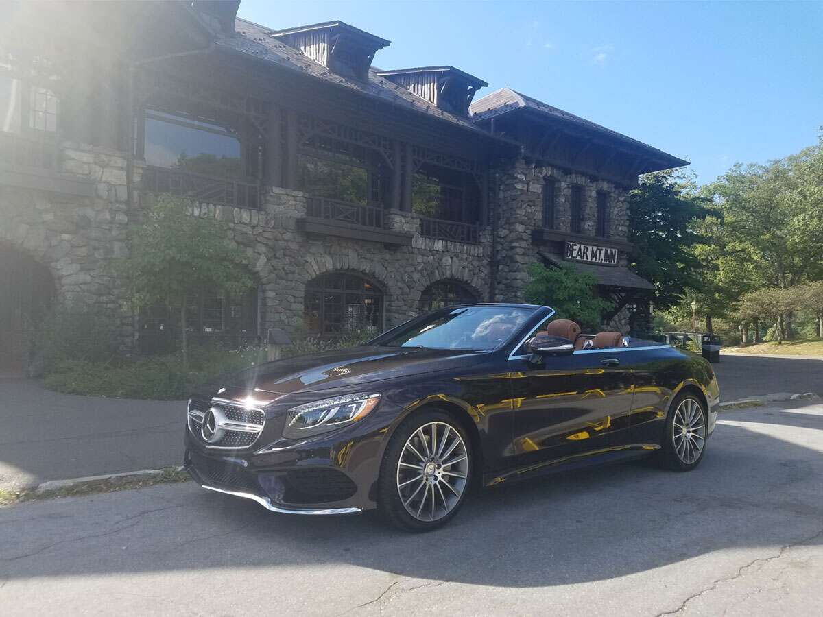 The Mercedes S550 Cabriolet Is The Ultimate Yacht Rocker