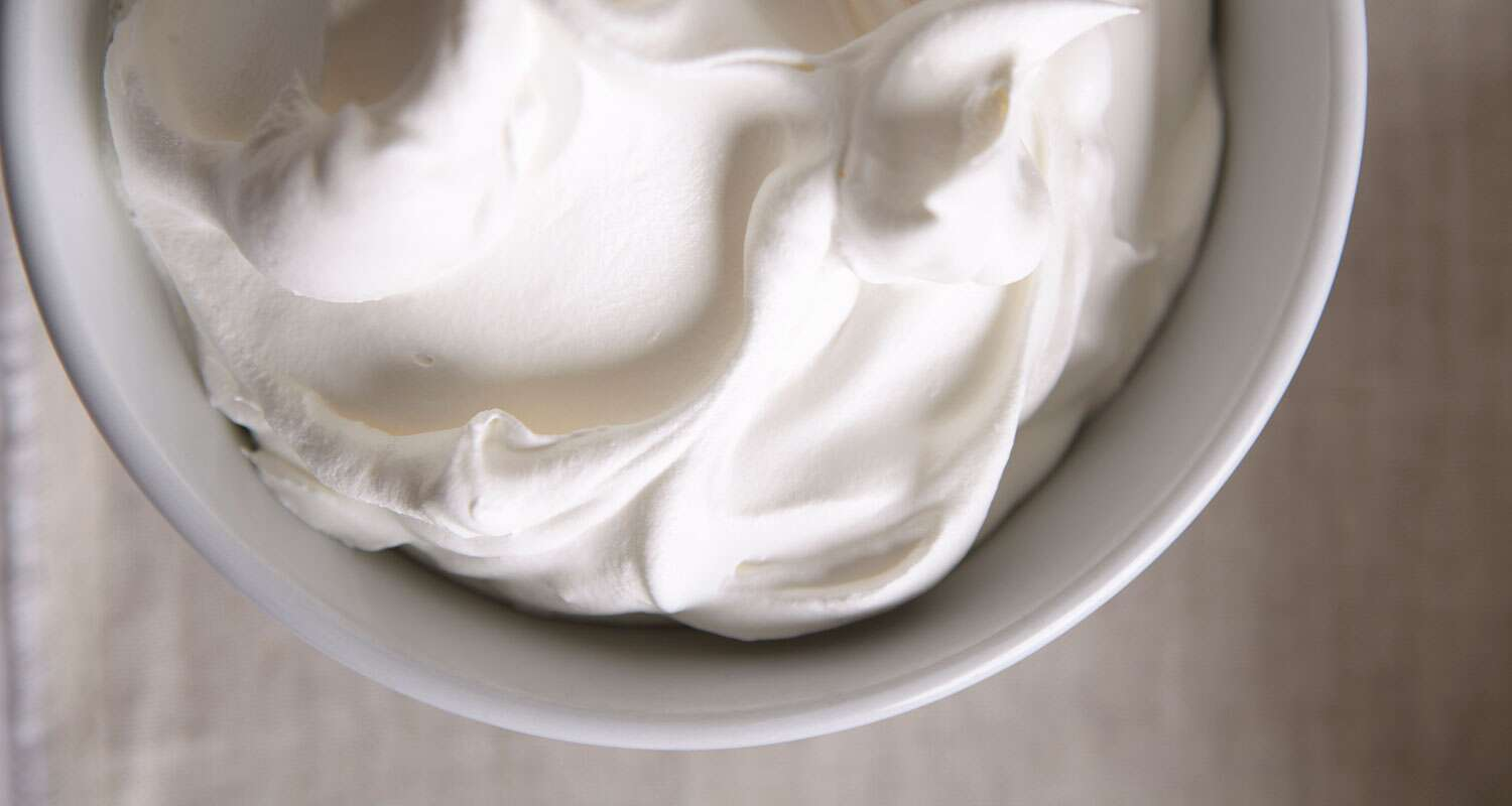 how to make light cream from heavy whipping cream
