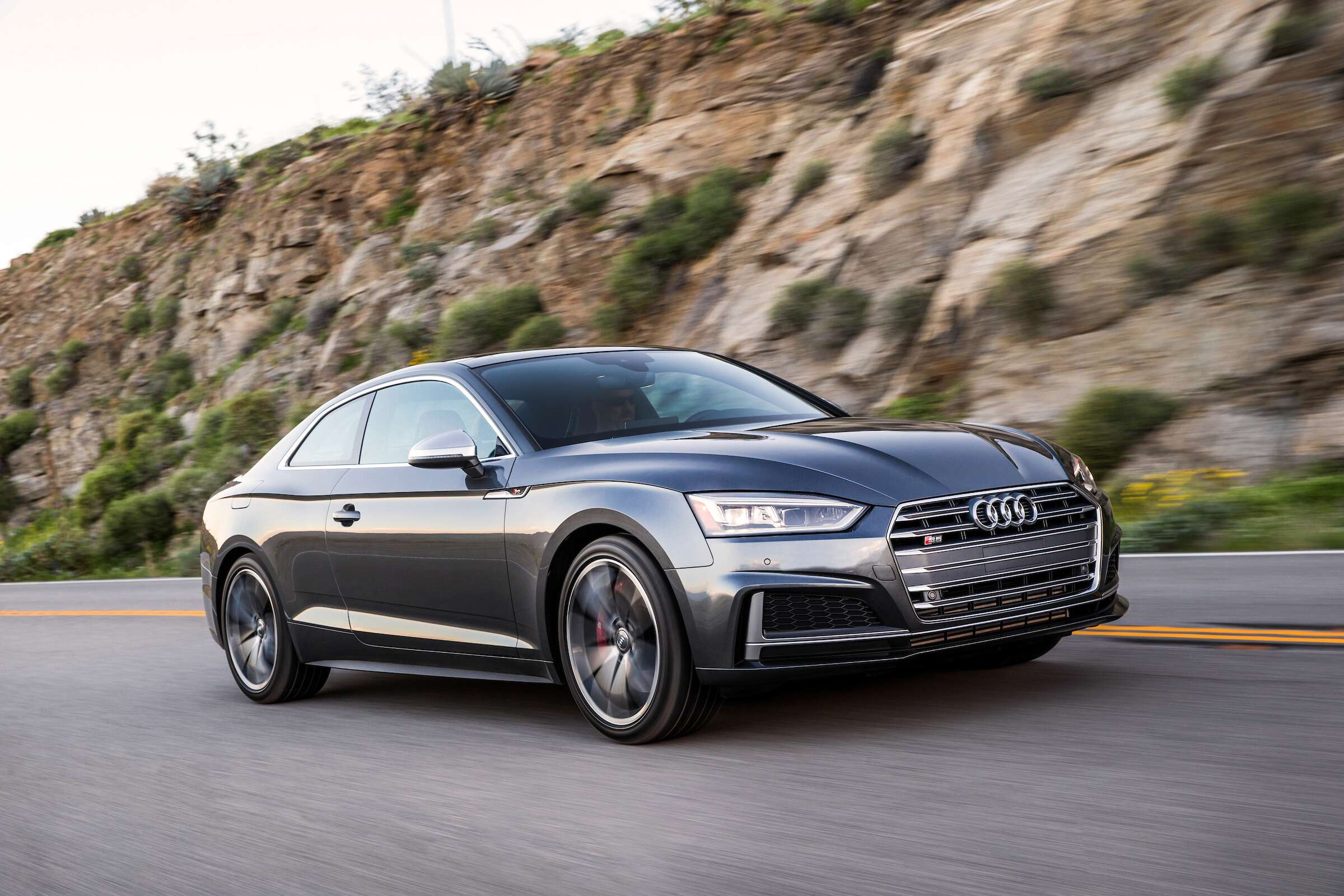 the 2018 audi s5 is the smartest quickest coupe you 39 ll barely notice the drive. Black Bedroom Furniture Sets. Home Design Ideas