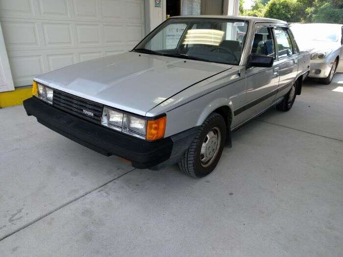 stunning 1984 toyota camry dlx with 99 574 miles the drive 39 s daily curbside classic the drive. Black Bedroom Furniture Sets. Home Design Ideas
