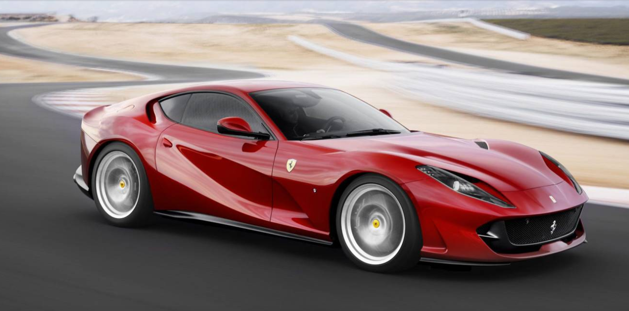2018 ferrari 812 superfast 211 mph