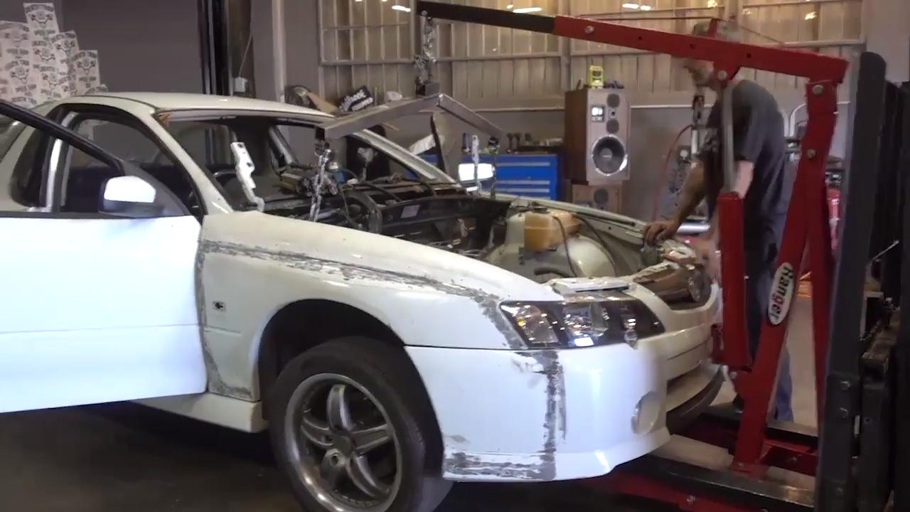 Watch Hoonigan Attempt to Left Hand Drive Swap a Holden ...