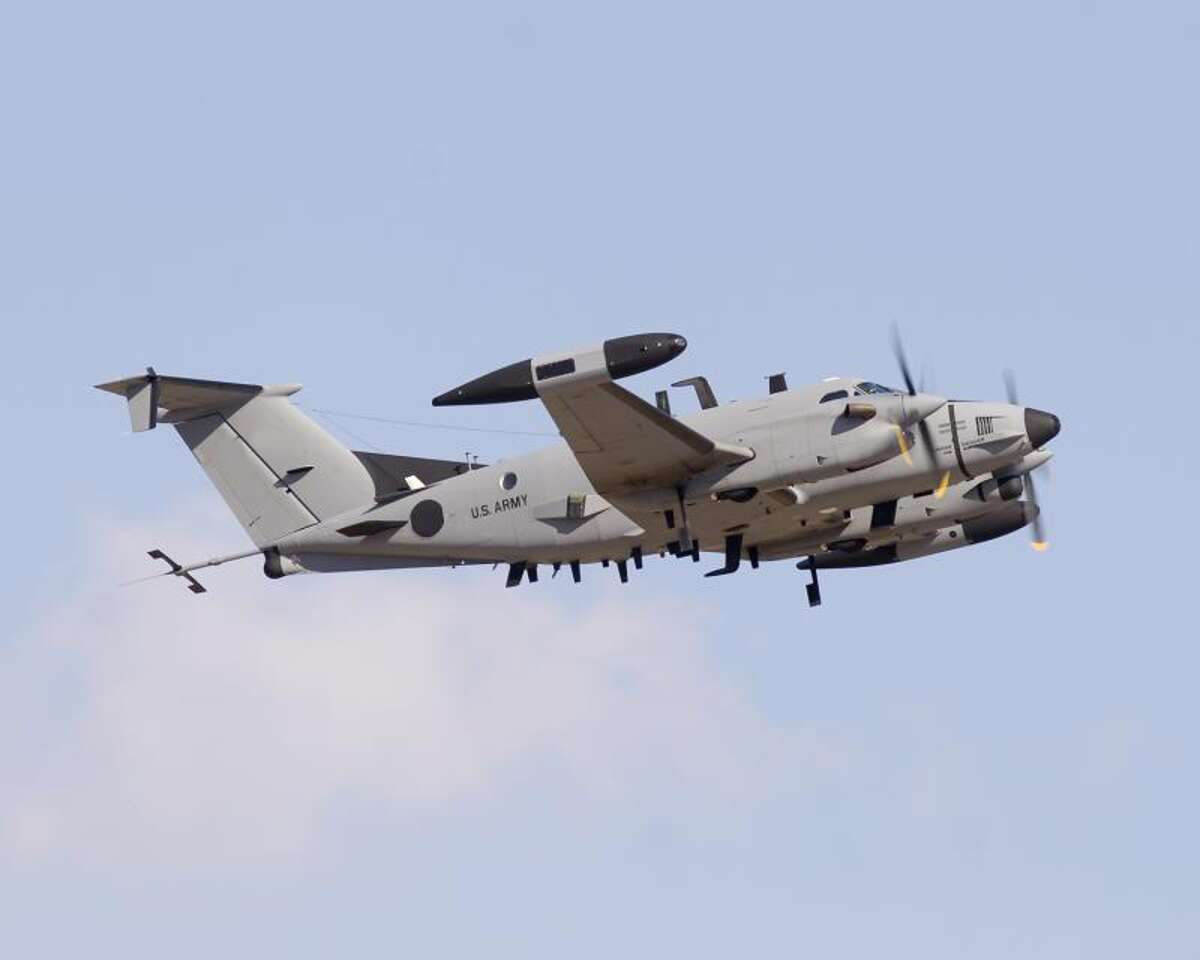 The u s army newest spy plane is in action africa
