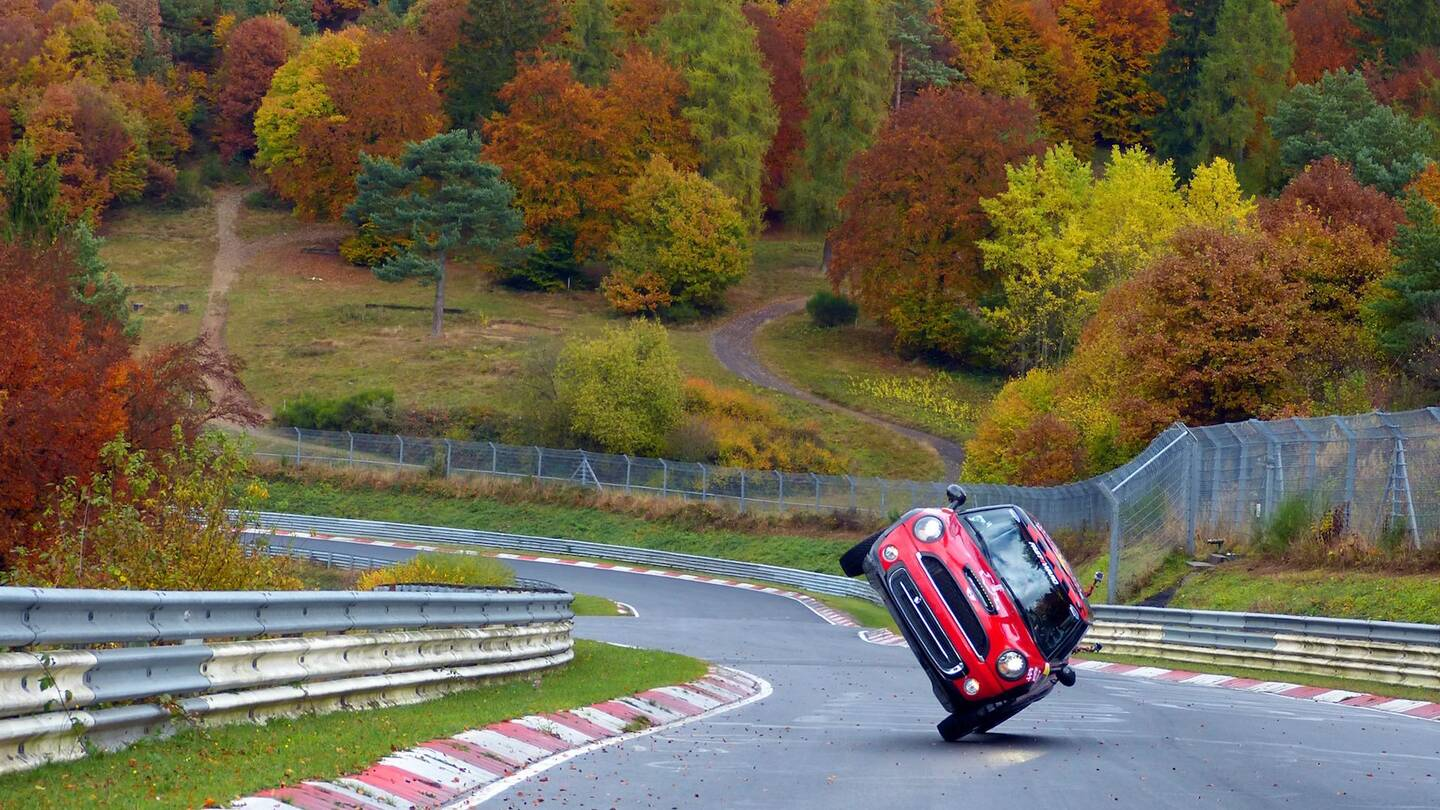 Watch This Mini Lap The Whole Nurburgring Nordschleife On
