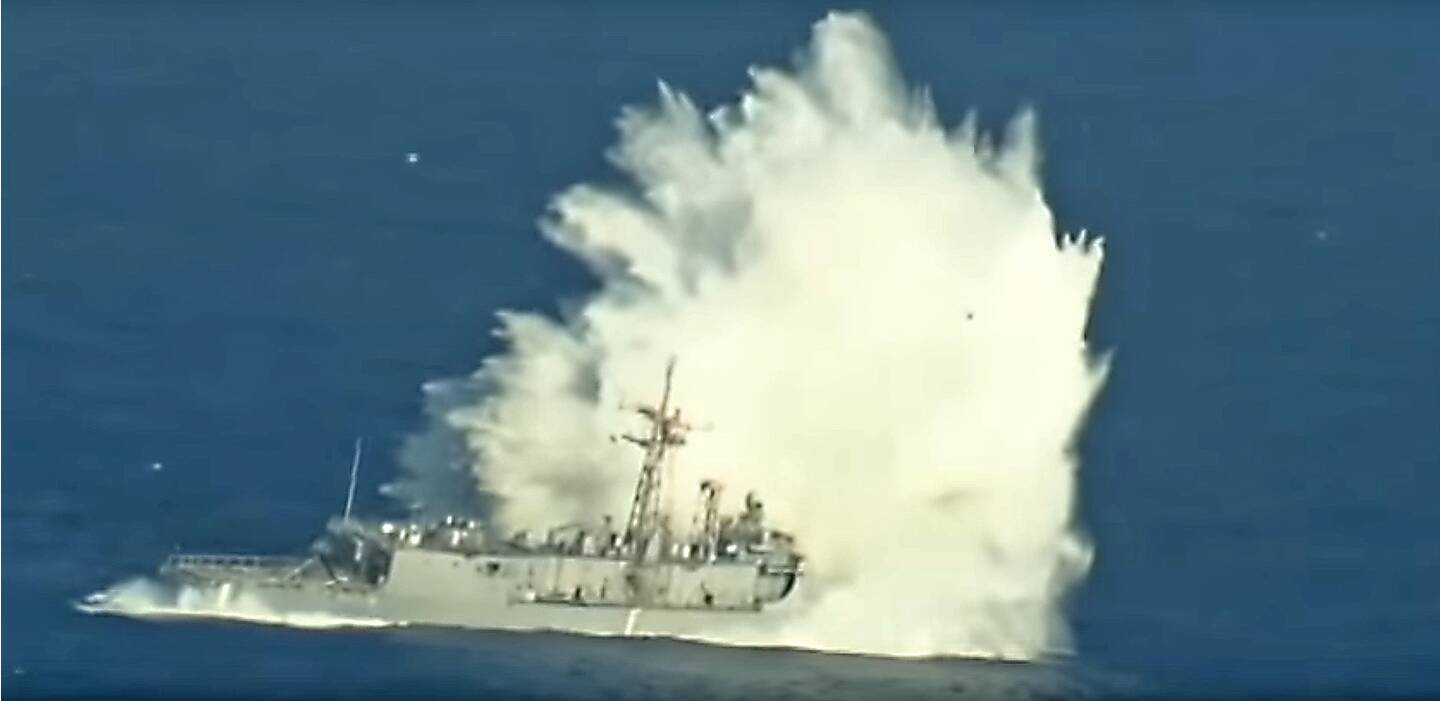 This Retired Perry Class Frigate Just Won T Sink After