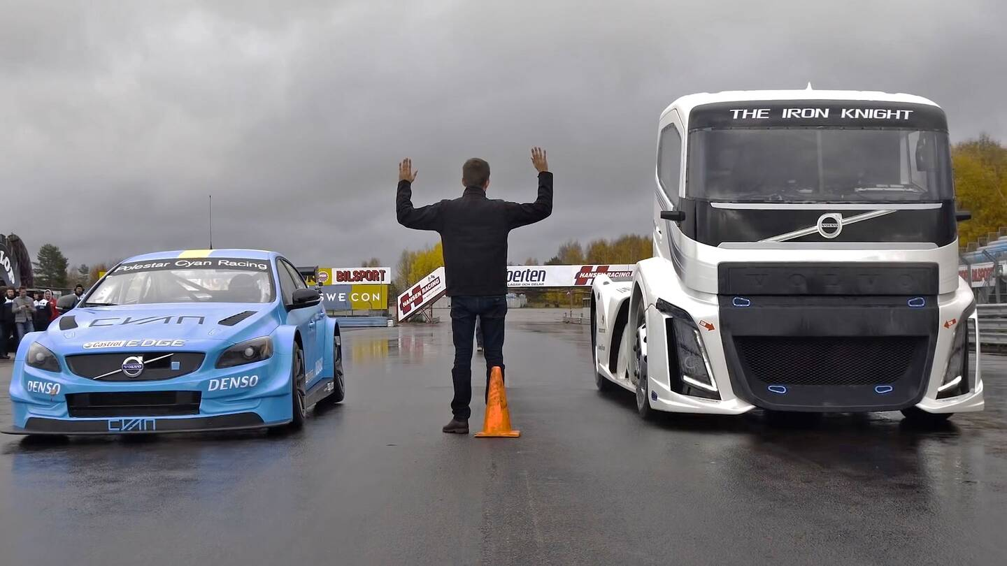 Watch Volvo S 2 400 Hp Quot Iron Knight Quot Truck Race A Volvo