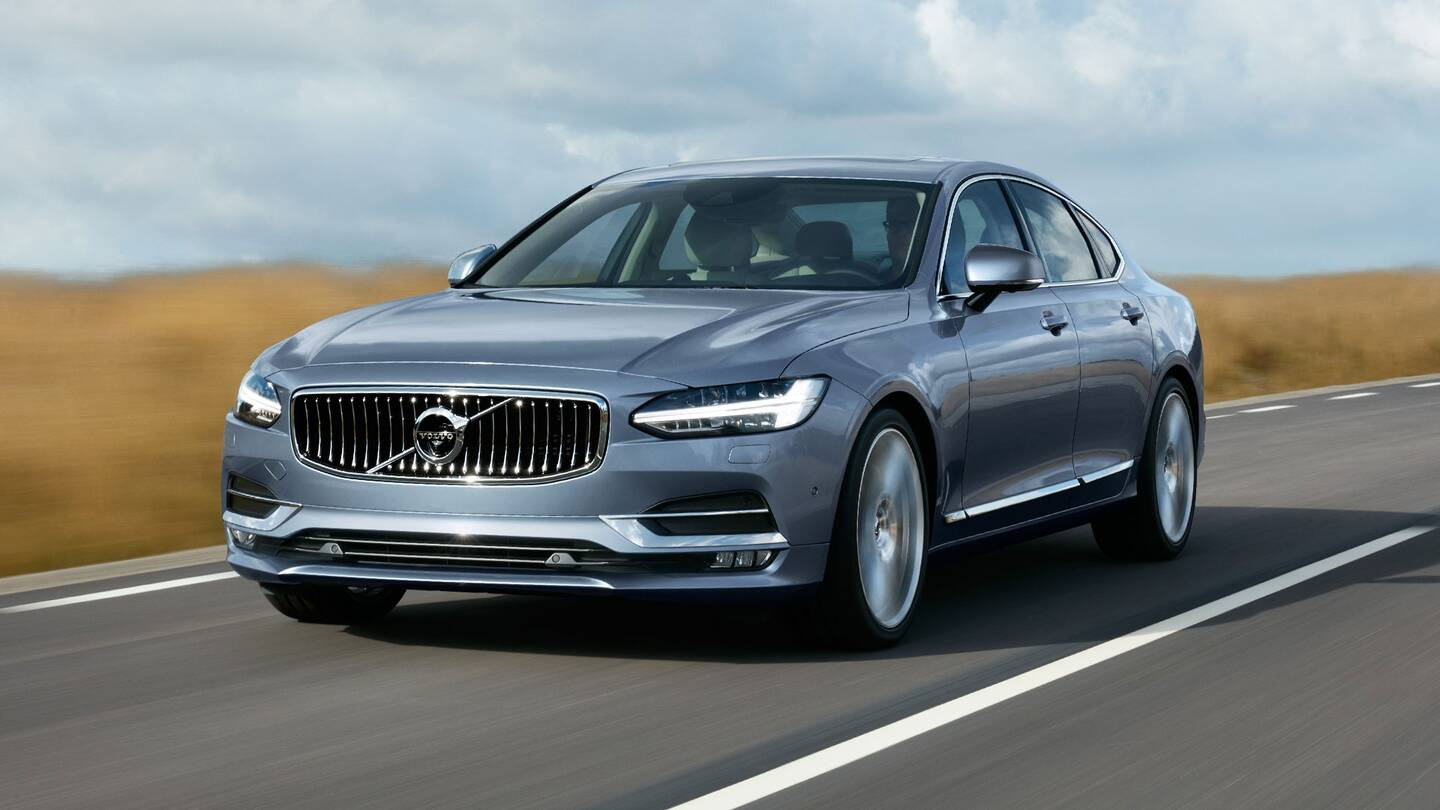 the 2017 volvo s90 t6 inscription is calm cool and comfortable the drive. Black Bedroom Furniture Sets. Home Design Ideas