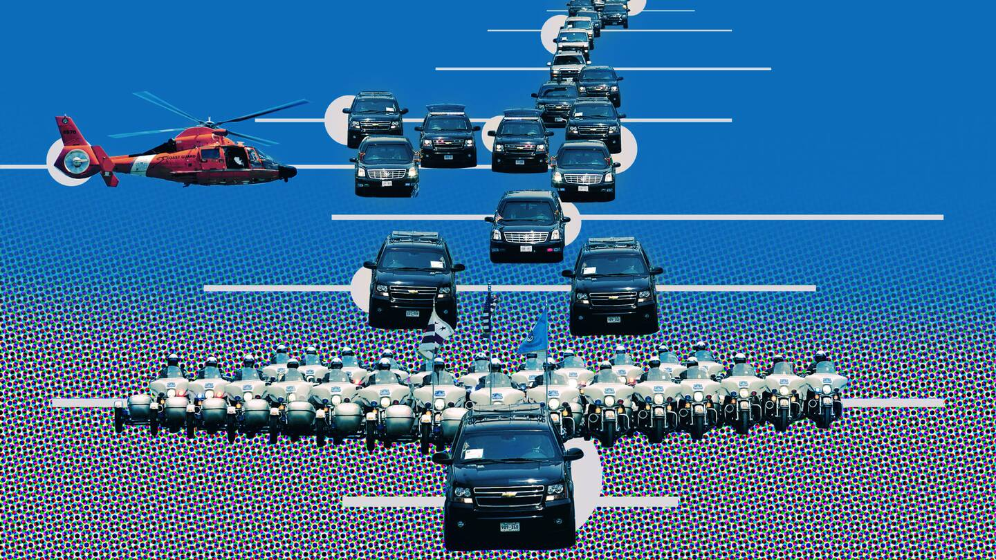 The Fascinating Anatomy Of The Presidential Motorcade