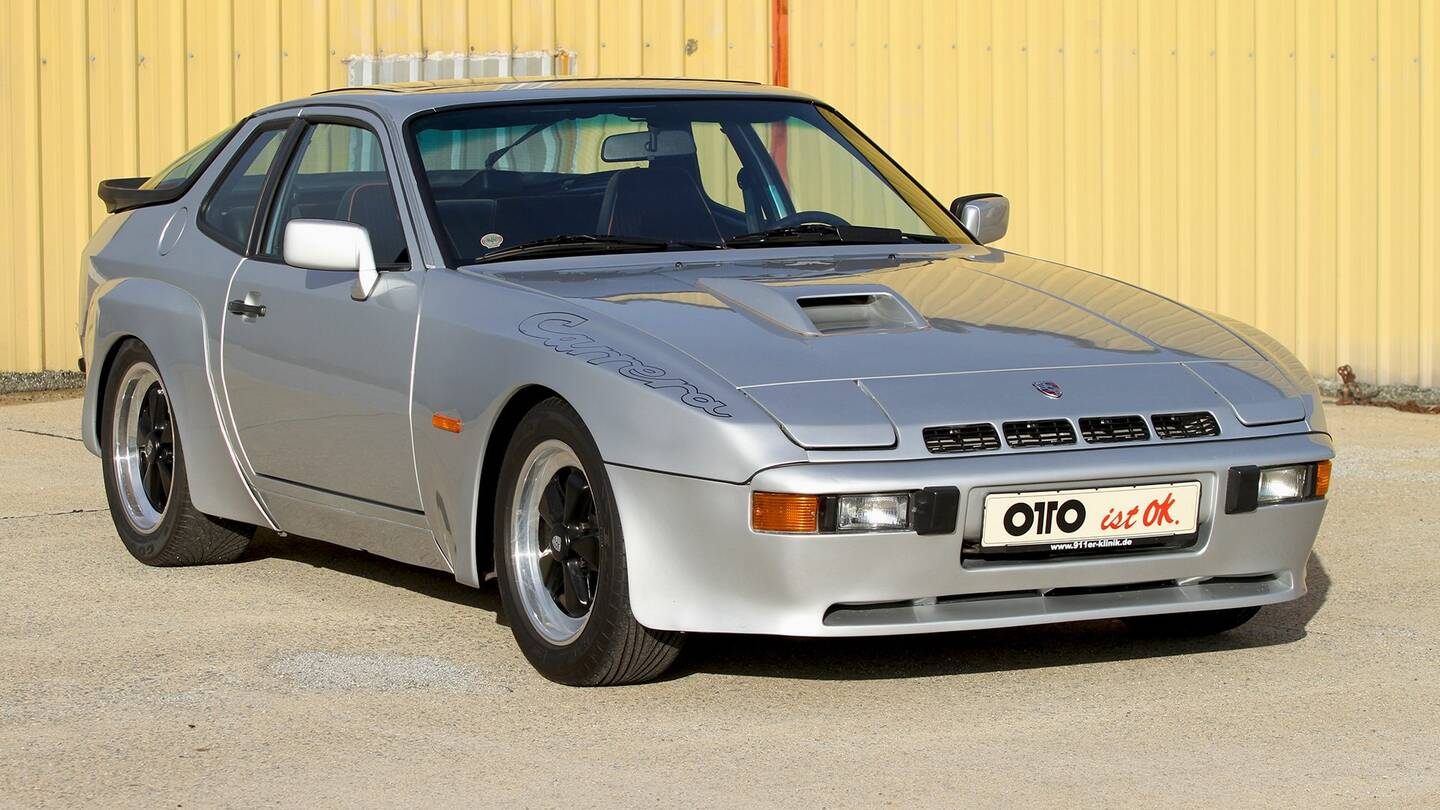 near perfect porsche 924 carrera gt on the auction block the drive. Black Bedroom Furniture Sets. Home Design Ideas