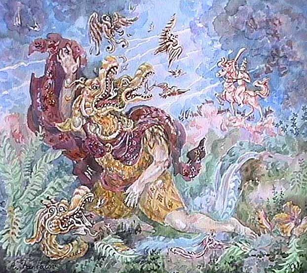 vritra - چگونه میتوان یک اژدها را کشت؟ اژدهاکشی در بازی تاج و تخت و افسانه ها