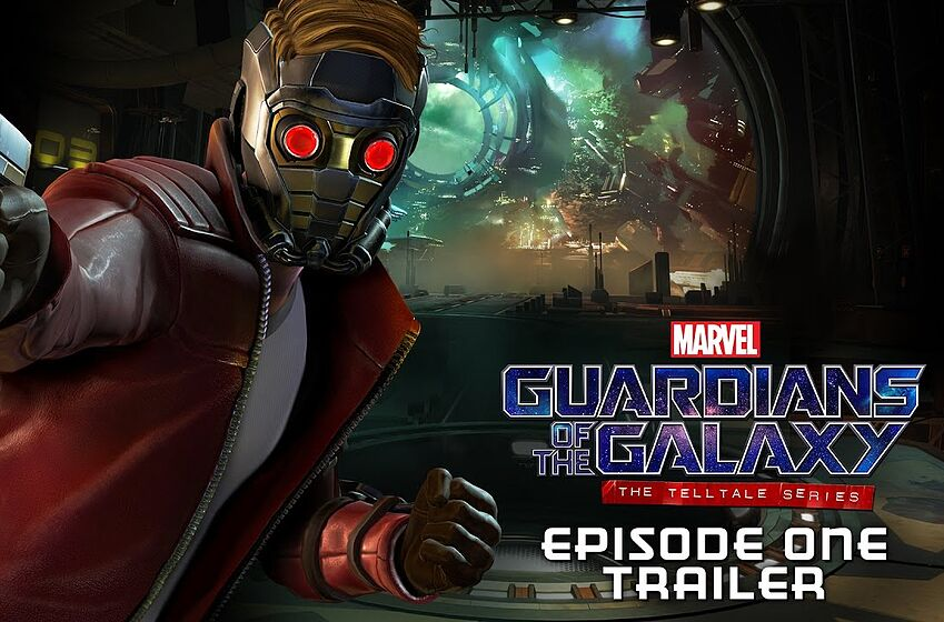 Still from episode 1 trailer for Guardians of the Galaxy: The Telltale Series; image