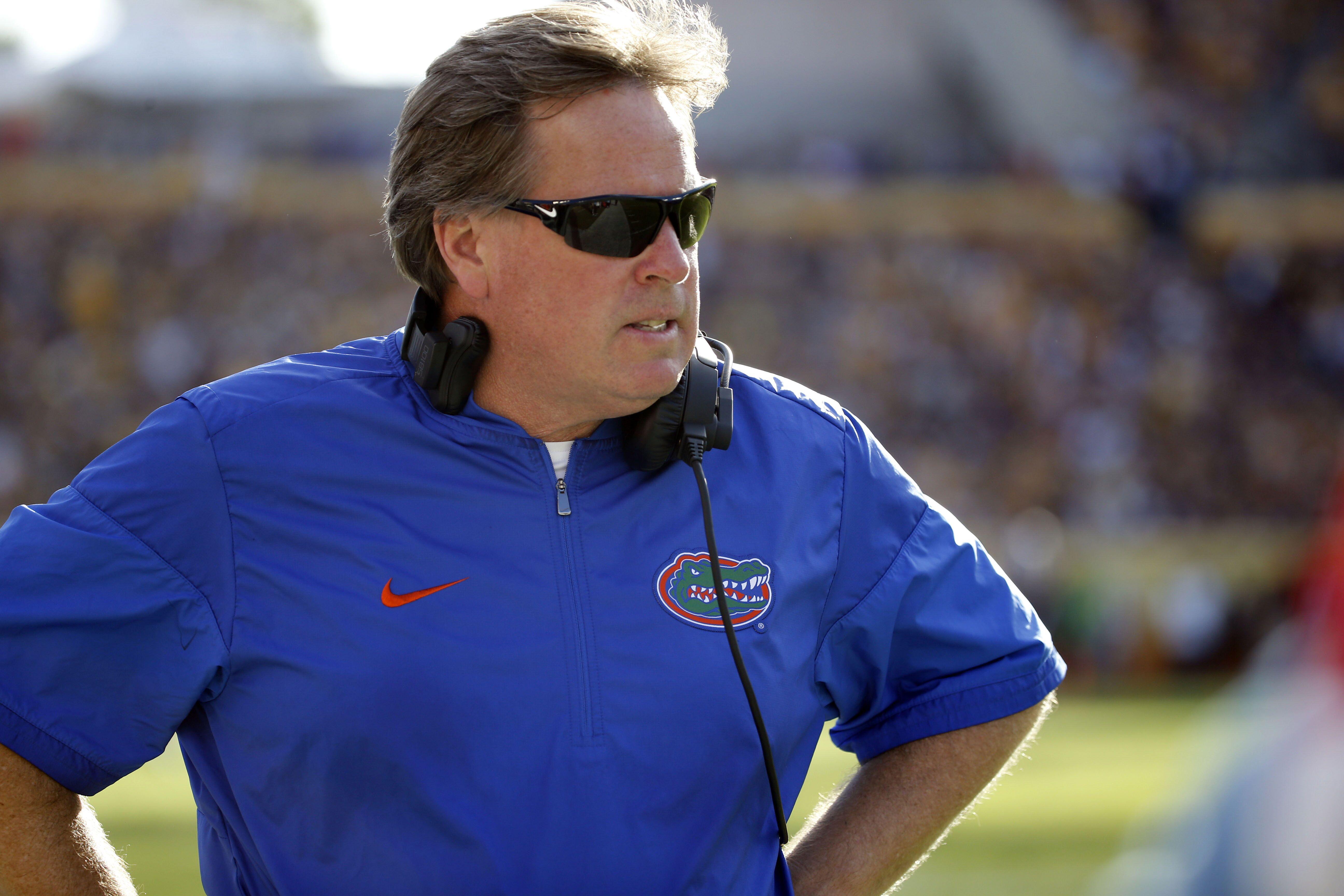 University of Florida Football Coach Jim McElwain Says