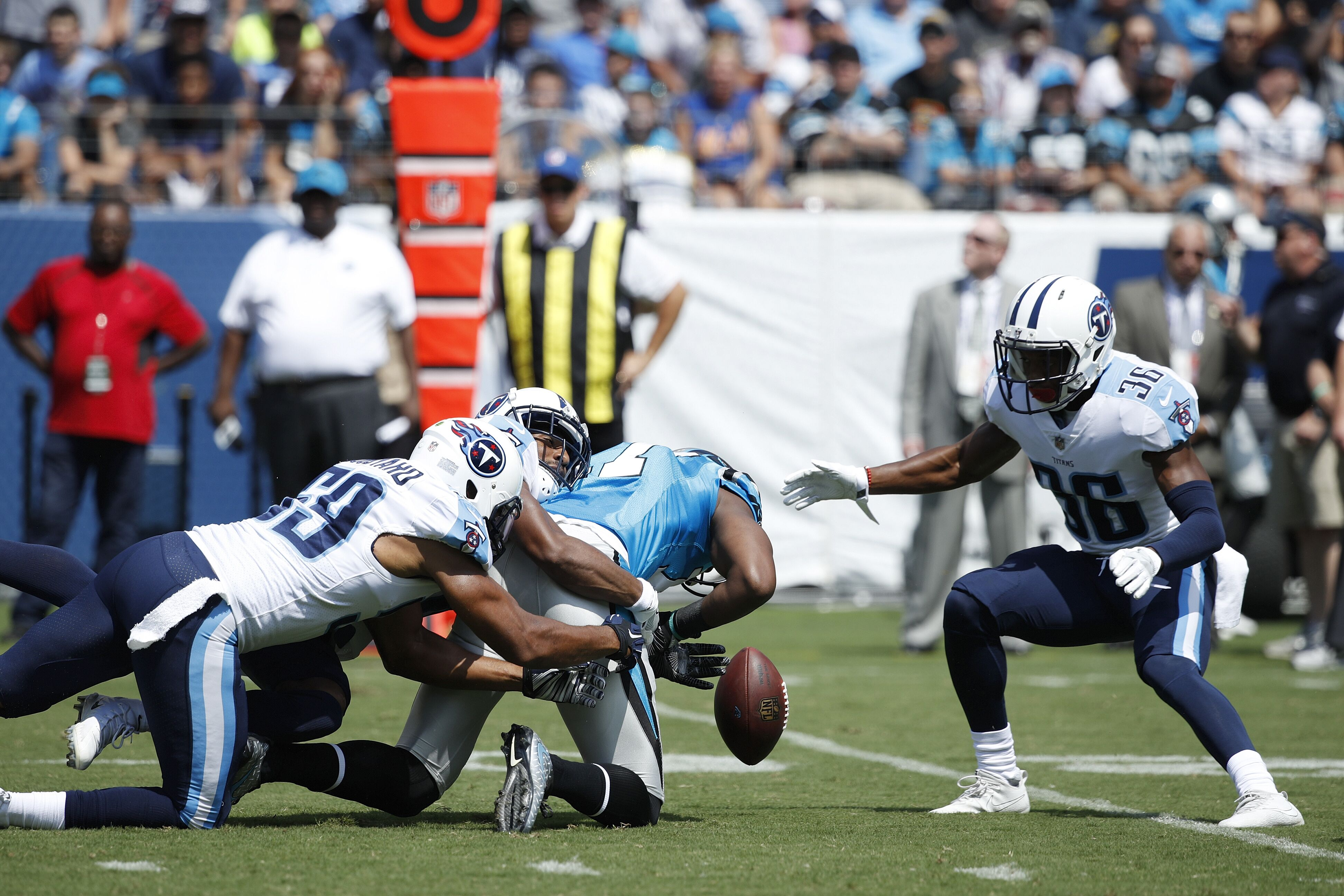 Newton Nissan South >> Grading the Carolina Panthers offense at Tennessee ...