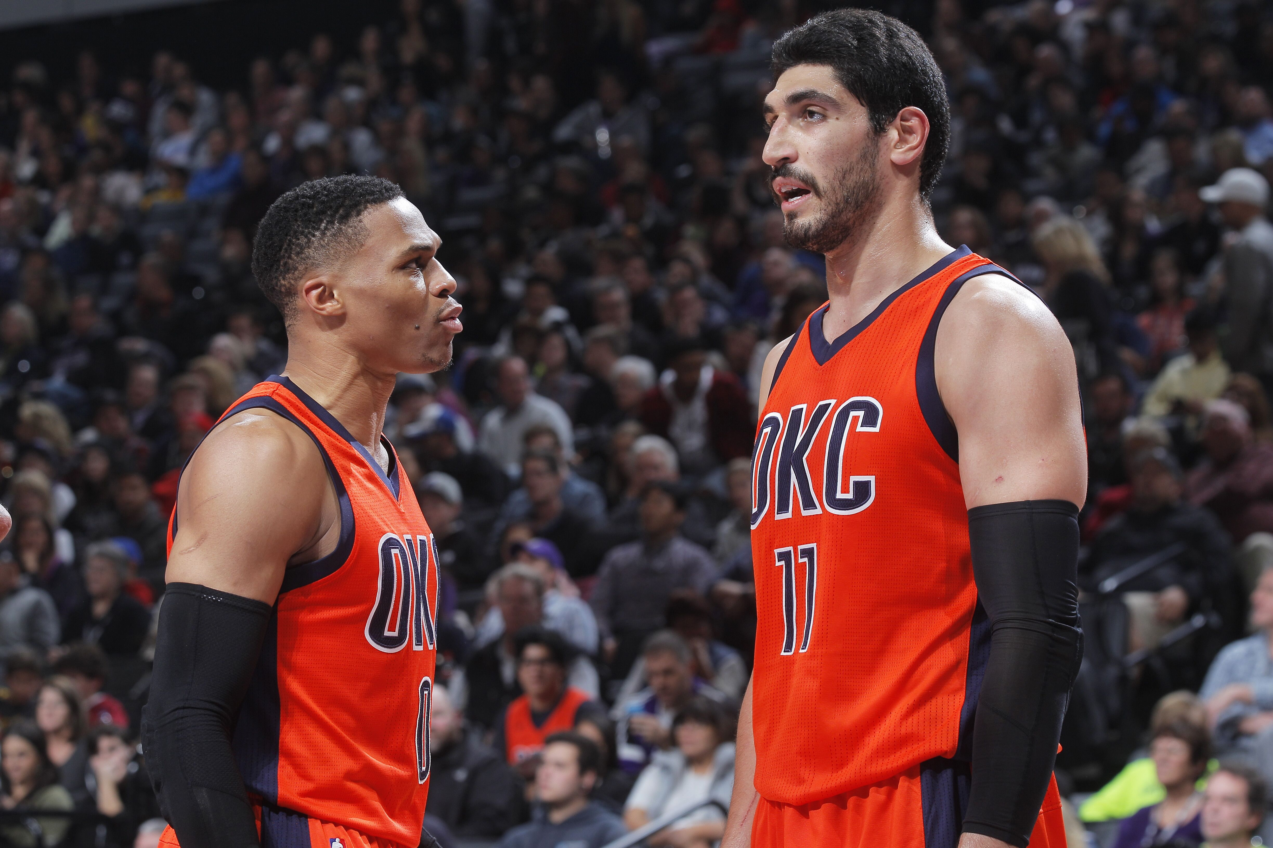 Enes Kanter sticking up for the Thunder after Kevin Durant ...