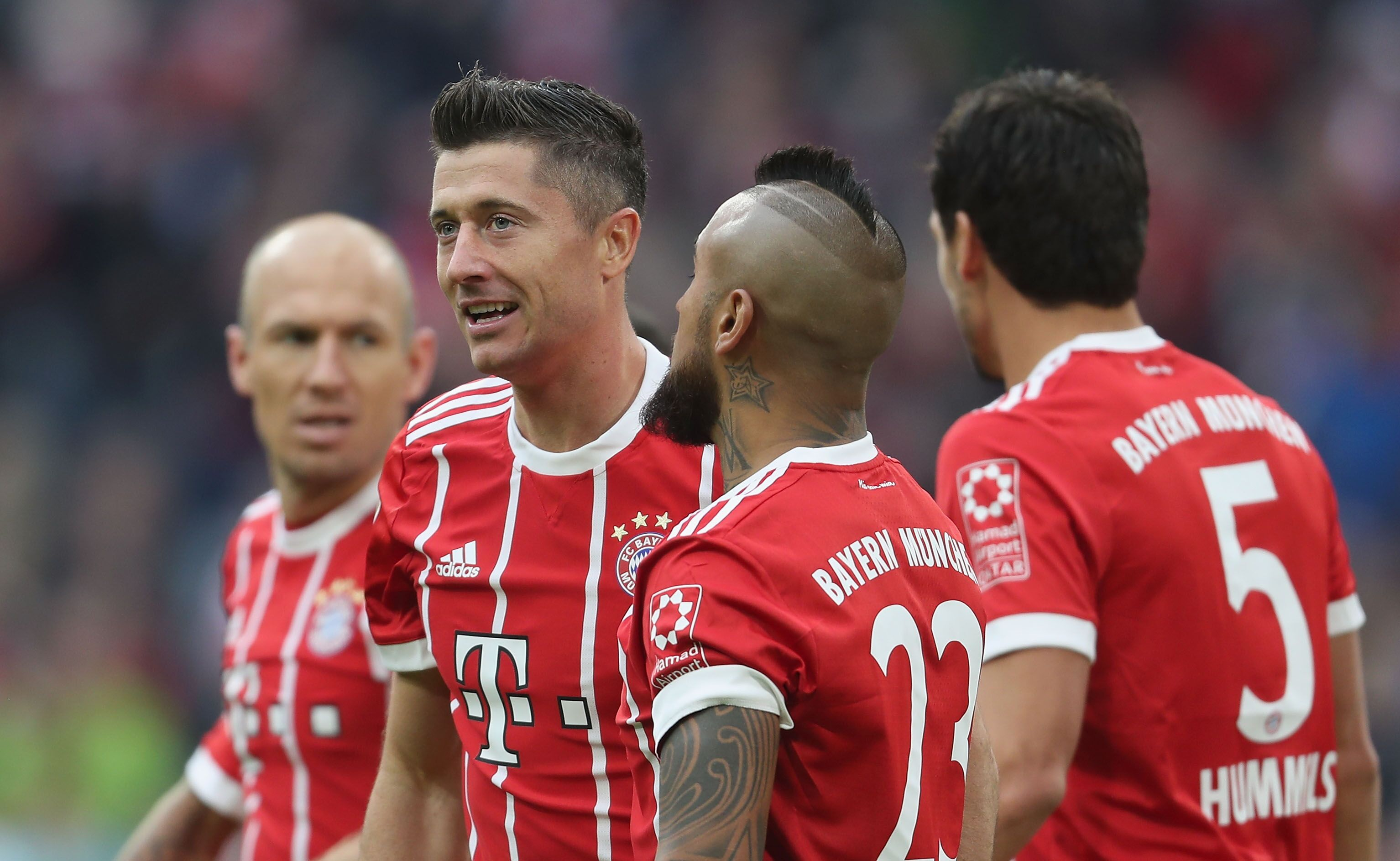 Fc Bayern Vs Wolfsburg 2017
