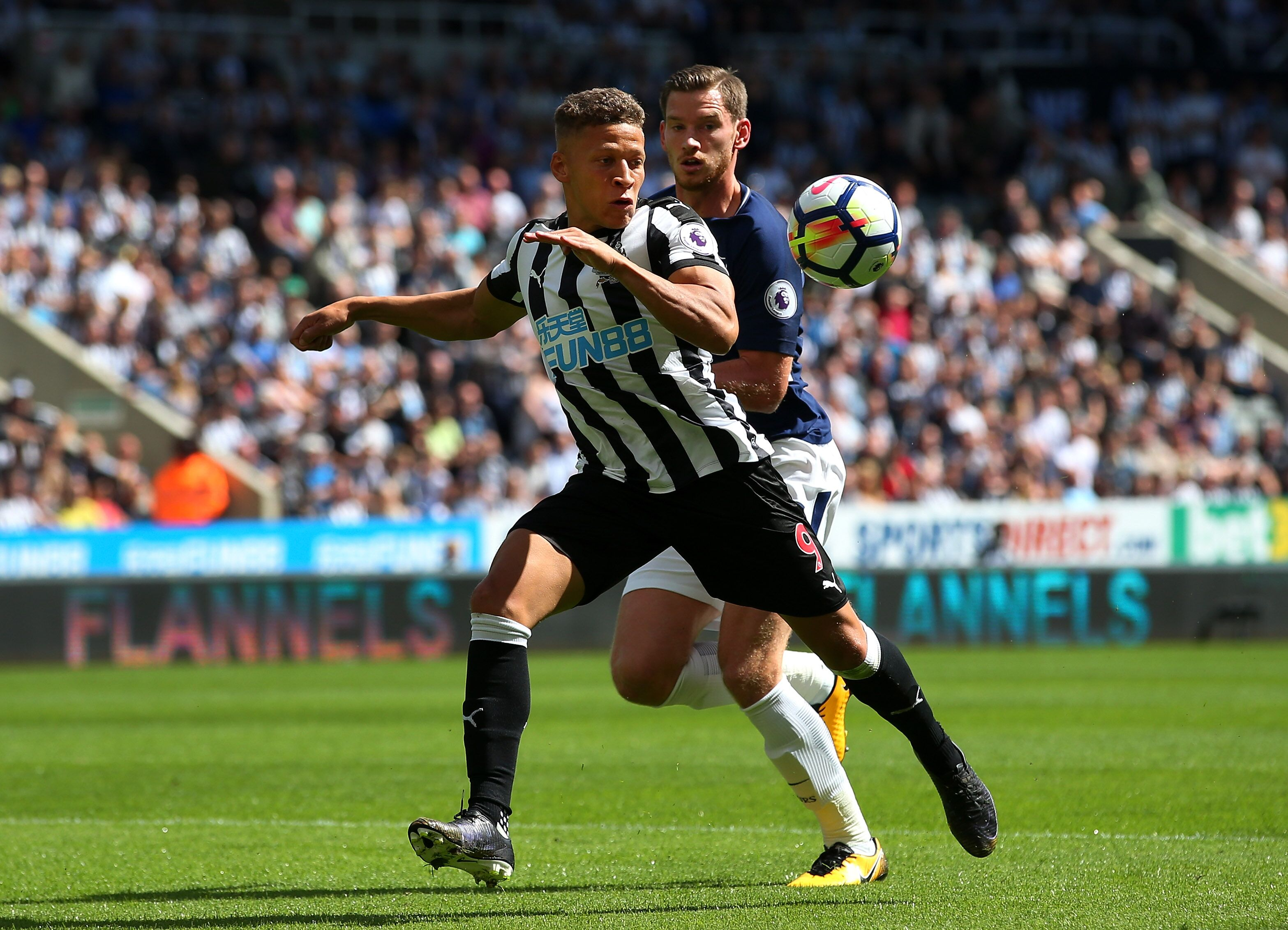 Newcastle united dwight gayle transfer talk hints at for Newcastle home