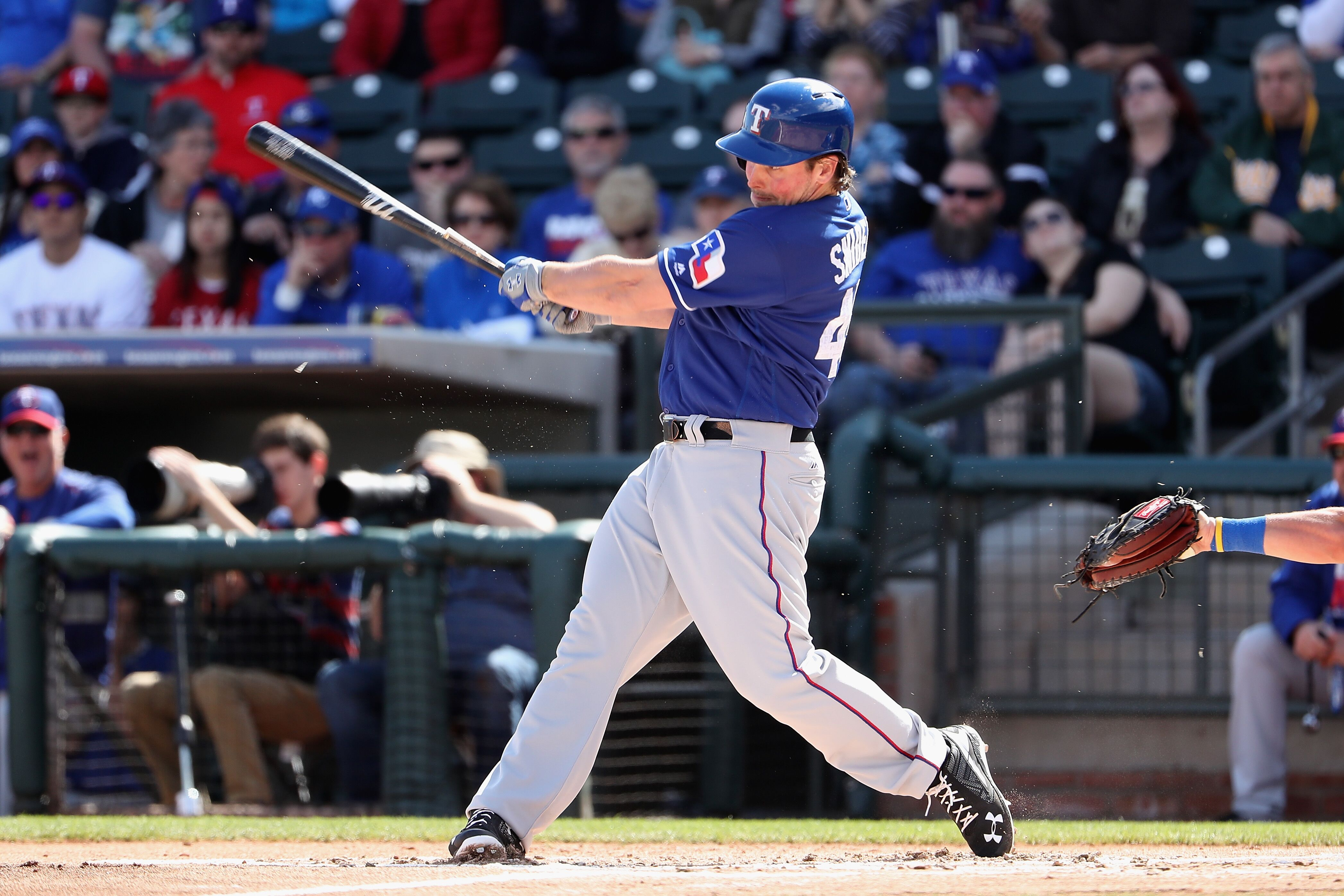 rangers trade outfielder travis snider to mets