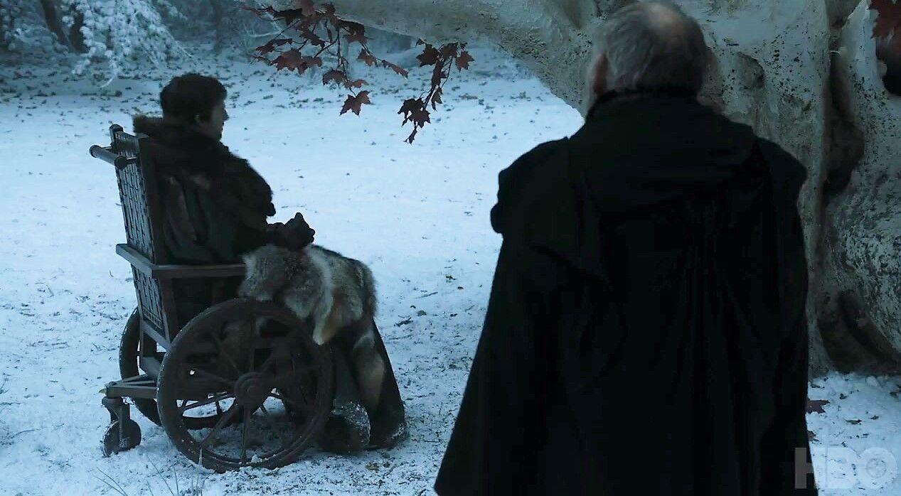 Risultato immagine per bran arrives winterfell