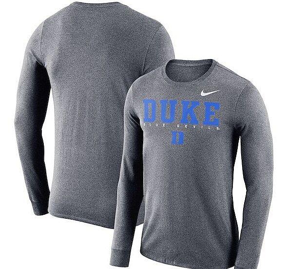 reputable site 2010c 01365 Duke Blue Devils Nike Three-Quarter T-Shirt