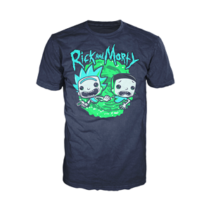 POP TEES: RICK & MORTY - SCHWIFTY - MENS