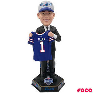 Buffalo Bills Josh Allen NFL Draft Bobblehead