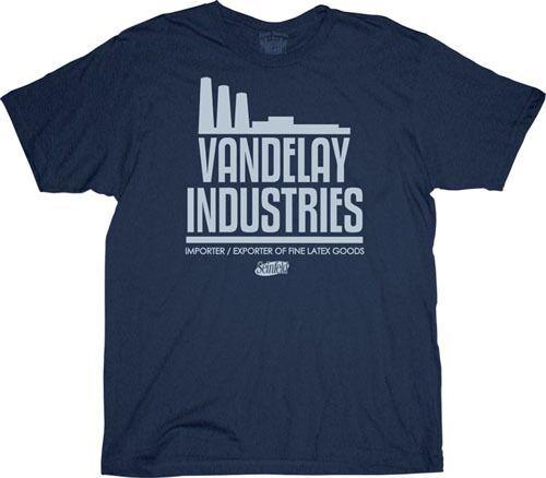 Seinfeld Vandelay Industries T Shirt