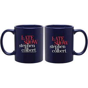 THE LATE SHOW WITH STEPHEN COLBERT MUG
