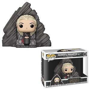 Daenerys Targaryen on Dragonstone Throne Funko Pop! Figure from Game of Thrones