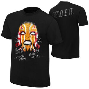 """Jeff Hardy """"Obsolete"""" Authentic T-Shirt"""