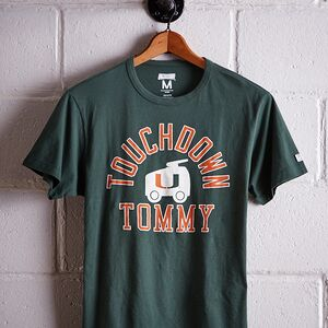 TAILGATE MEN'S MIAMI TOUCHDOWN TOMMY T-SHIRT