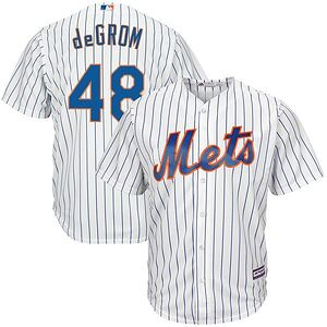 26d24efa2 Jacob deGrom New York Mets Majestic Cool Base Player Jersey