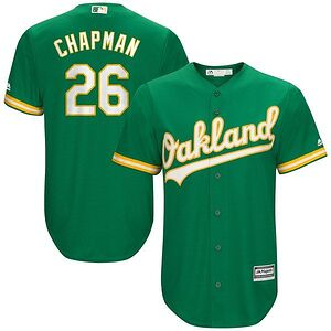 5ef0e26d4ab Matt Chapman Oakland Athletics Majestic Alternate Official Cool Base Player  Jersey