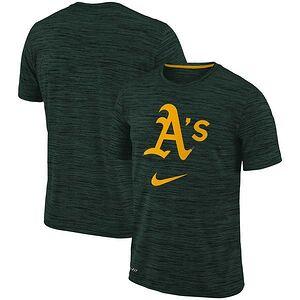 79afcdff86a175 Oakland Athletics Nike Velocity Performance T-Shirt