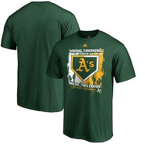 31d8d6bf0dc Oakland Athletics Majestic 2019 Spring Training Cactus League Base on Ball  T-Shirt
