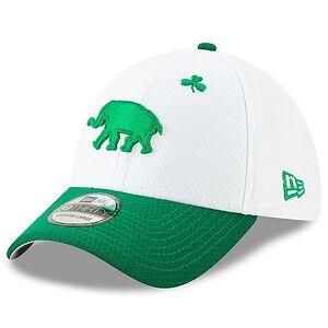 14d3e1c7e4587b Oakland Athletics New Era 2019 St. Patrick's Day 39THIRTY Flex Hat