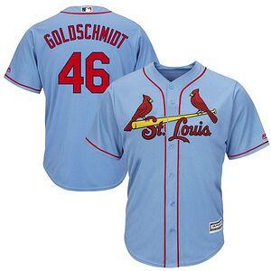 24095c0bc Paul Goldschmidt St. Louis Cardinals Majestic Alternate Official Cool Base  Player Jersey