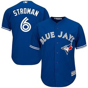 a4fceacee7b Marcus Stroman Toronto Blue Jays Majestic Cool Base Player Jersey