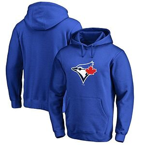 Toronto Blue Jays Fanatics Branded Primary Logo Pullover Hoodie 208bf7100