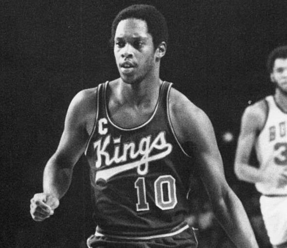 Tiny Archibald of the Kansas City-Omaha Kings in a 1974 photo. (Photo by Malcolm W. Emmons/The Sporting News Archives via Wikimedia Commons/This work is in the public domain because it was published in the United States between 1923 and 1977 and without a copyright notice.)