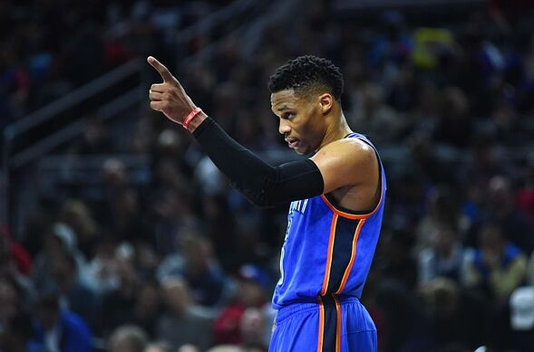 0f19cf4ad27e Is Russell Westbrook catching up to Stephen Curry in the race for MVP  Find  out in this week s edition of the NBA Player Power Rankings.