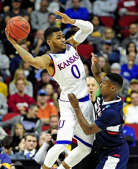 NCAA Tournament: Maryland Or Hawaii Gets Kansas Next