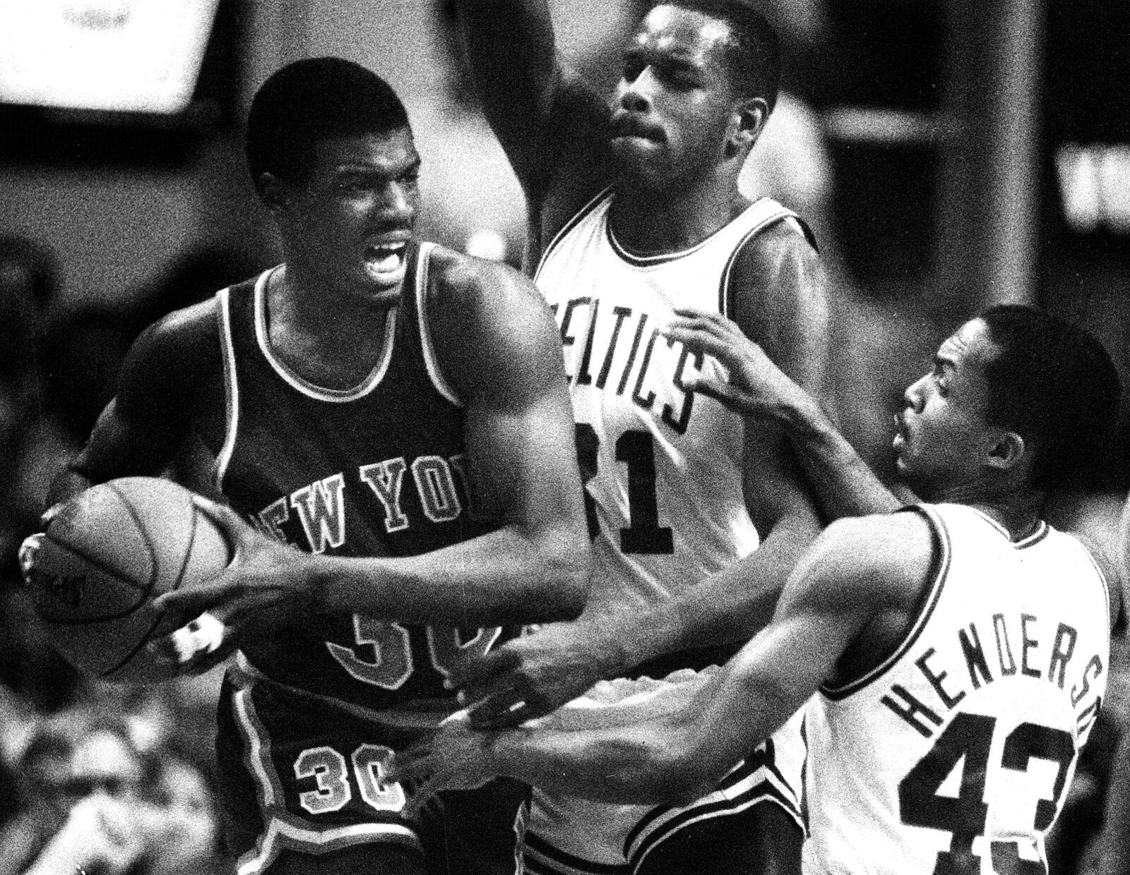 Carmelo Anthony Bernard King New York Knicks