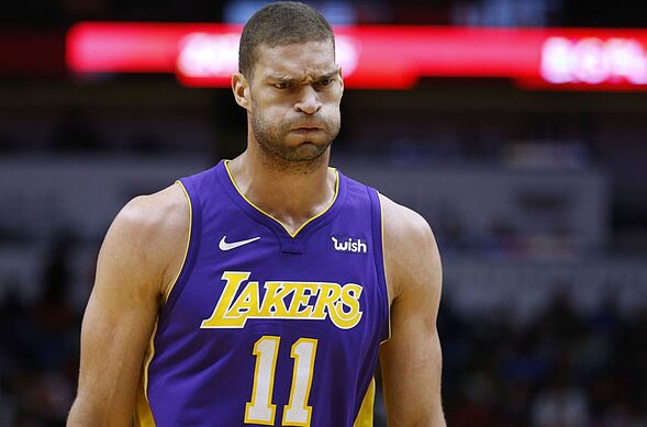 info for 52c54 77ab5 Los Angeles Lakers: 2017-18 player grades for Brook Lopez