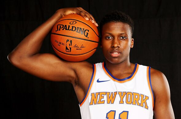 777efd64d New York Knicks rookie Frank Ntilikina will be the latest to wear jersey  No. 11. Here are the five most notable No. 11 s in franchise history.