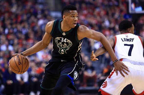 Milwaukee Bucks  5 goals for Giannis Antetokounmpo in 2017-18 605ed8ff4