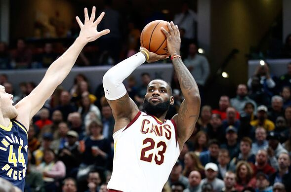 best website ceeff 2114f Cleveland Cavaliers  LeBron James  current standing in the MVP race