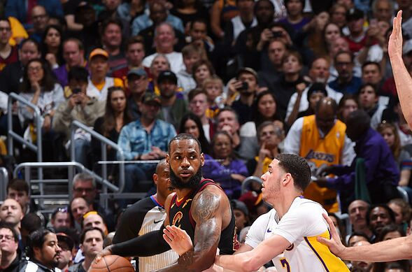 aa1c691d4a7 Los Angeles Lakers  3 takeaways from the Cleveland Cavaliers game ...