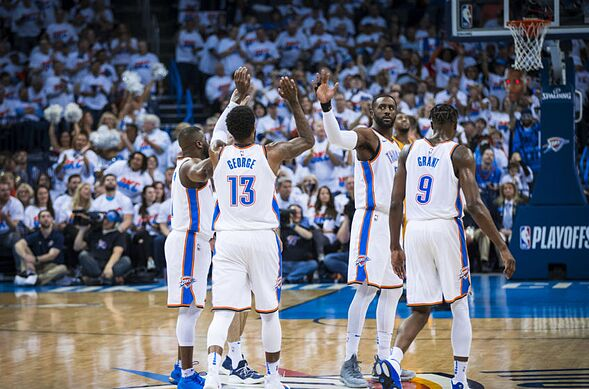 3b826948926 Oklahoma City Thunder  3 goals for Paul George in 2018-19
