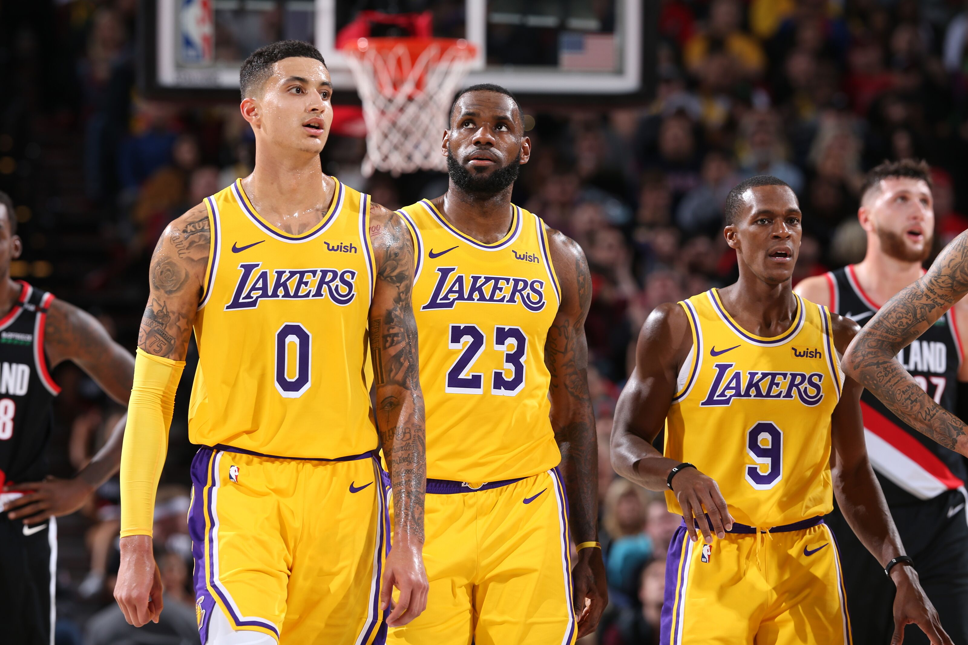 Los Angeles Lakers 3 Potential Starting Lineups In 2019 20