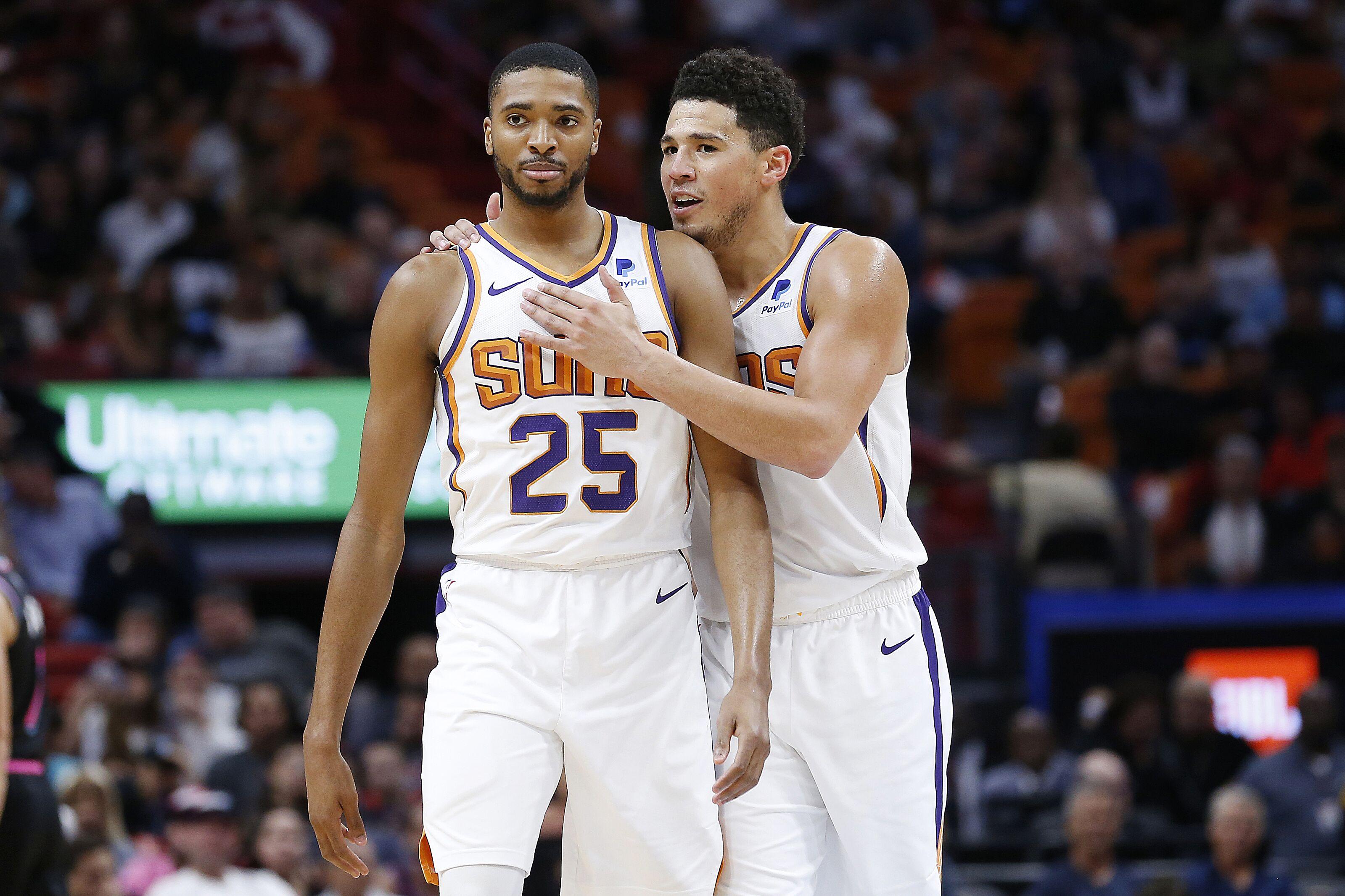 premium selection d95bf c8a3f Phoenix Suns: Roles for Mikal Bridges this season